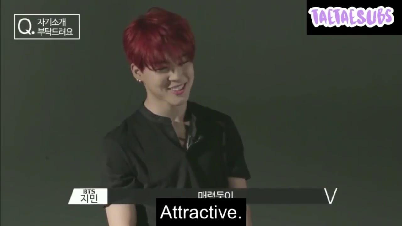 1/4 [ENG] BTS introduces themselves    RUN! BTS EP  1