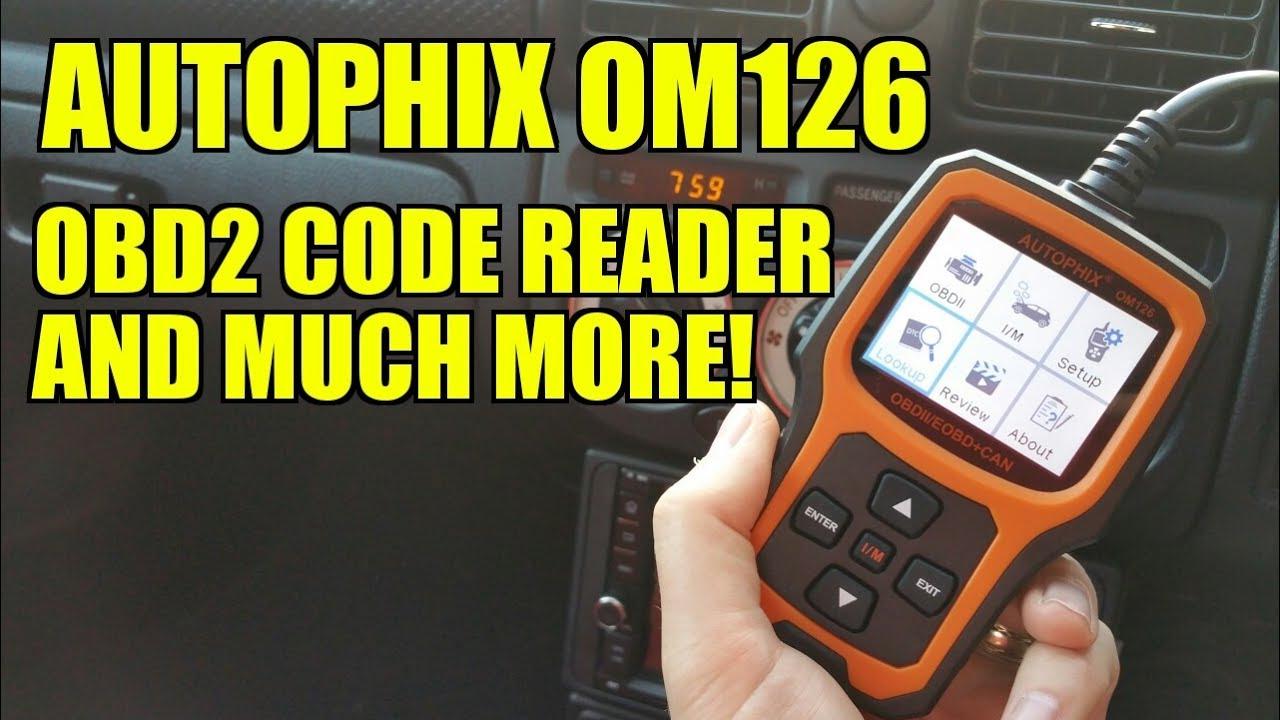 Autophix OM126 OBD2 Scanner Reader Review