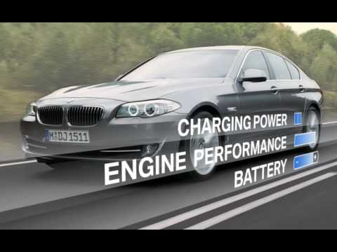 BMW F10 5 Series Brake Energy Regeneration