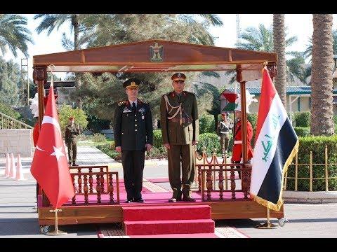رئيس أركان الجيش يستقبل نظيره التركي