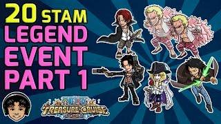 Walkthrough for Legend Island 20 Stamina Event Part 1 [One Piece Treasure Cruise]