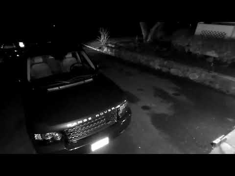 The New Canaan Police Department released video of the suspects entering two cars.
