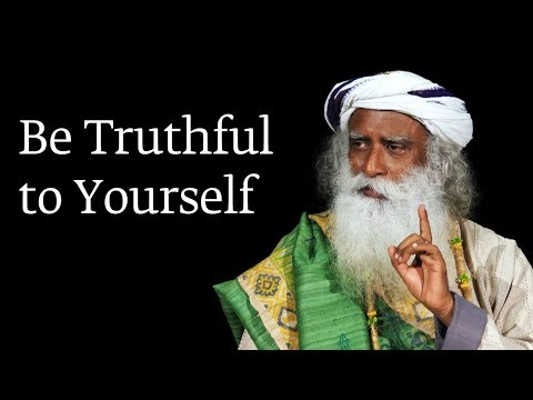 Be Truthful to Yourself
