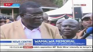 The 15th anniversary of former Vice President Wamalwa Kijana | KTN News Centre