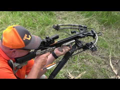 CenterPoint Crossbows 2017 Tormentor Whisper 380 and Specialist XL 370