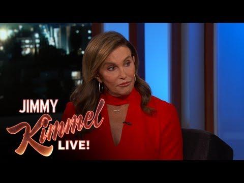 Jimmy Kimmel Asks Caitlyn Jenner if She Regrets Voting for Trump