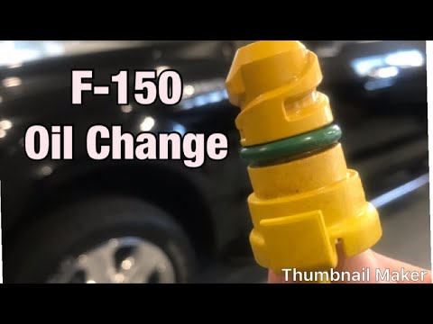 2018 Ford F-150 oil and filter Change 3.5L ecoboost V6 diy guide 5w30 6 quarts of oil 2017 -2019