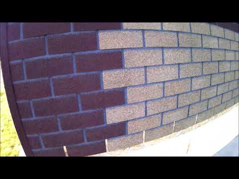 Фасадная плитка Технониколь Hauberk. Год эксплуатации на фасаде.