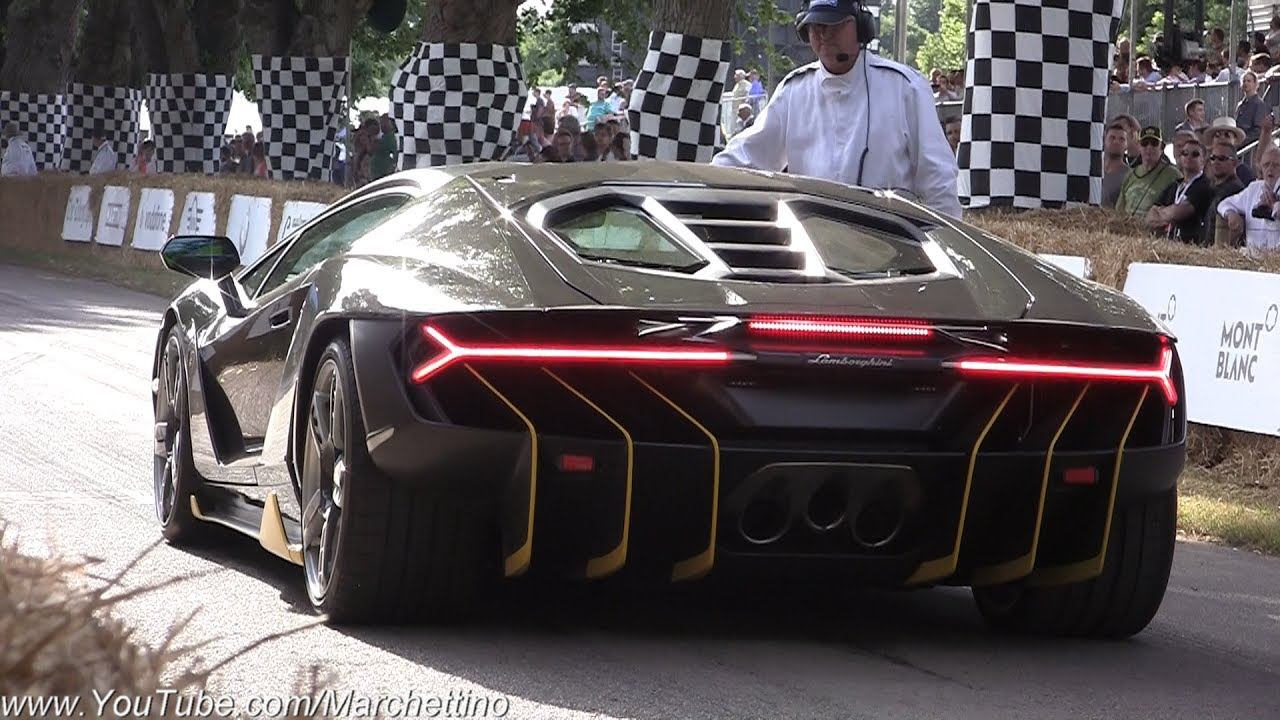 1 9m Lamborghini Centenario Exhaust Sound Revs Launches Accelerations