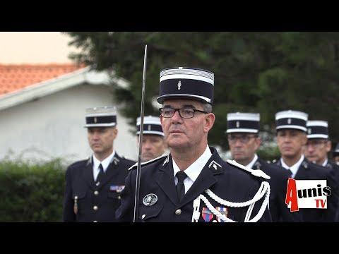 La Rochelle. La Brigade Motorisée De La Gendarmerie De Charente Maritime à Un Nouveau Commandant