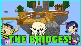 Minecraft - the Bridges Rage Quit with Gamer Chad Alan and Hannah Carr