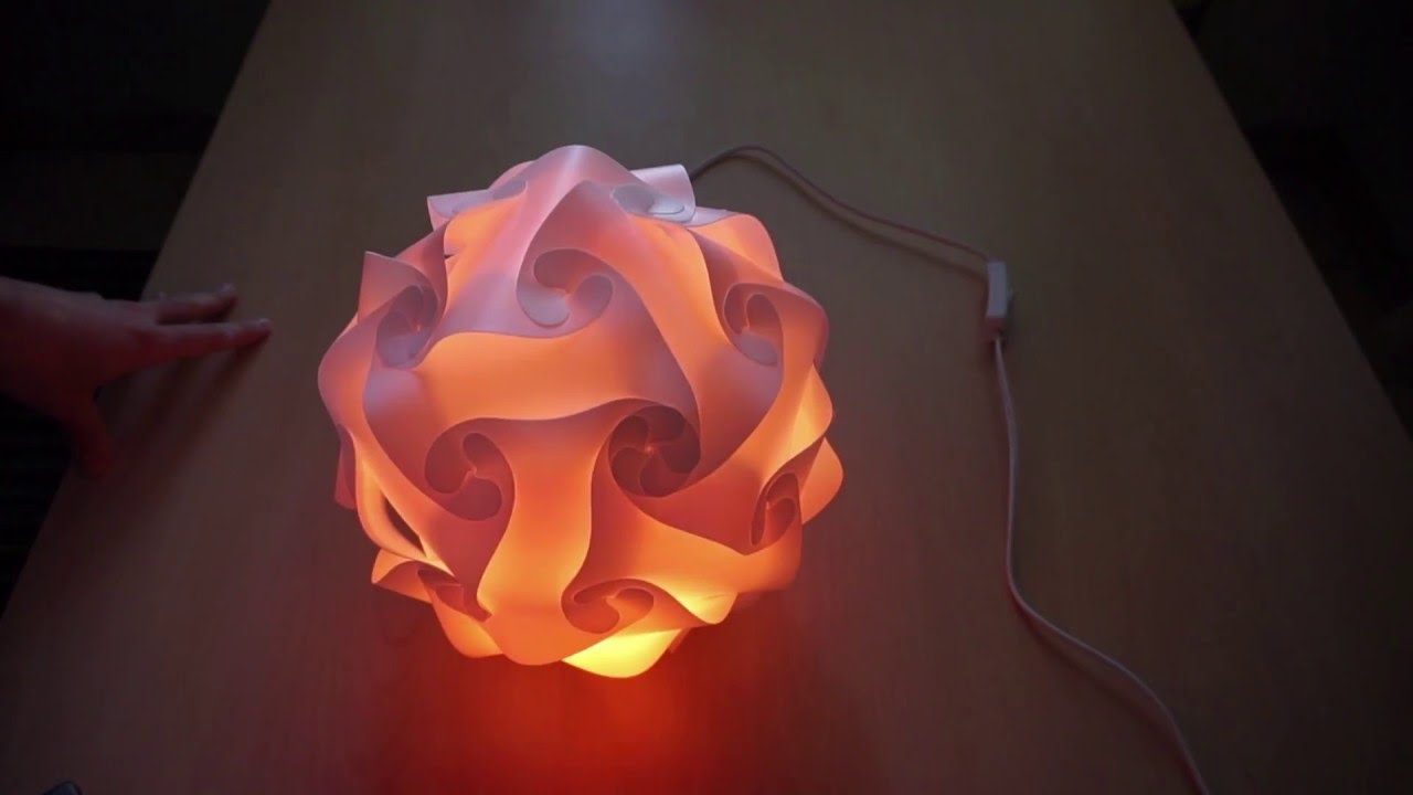 Lampadari Fai Da Te Tutorial.Come Assemblare Una Lampada Sferica