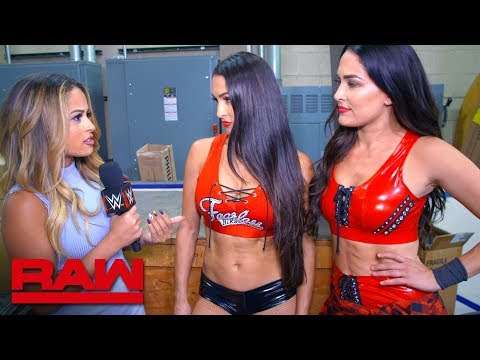 The Bella Twins reveal why they attacked Ronda Rousey: Raw Exclusive, Oct. 8, 2018