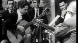 Andrés Segovia (Master Class 1965) with Miguel Barbera (part 1)