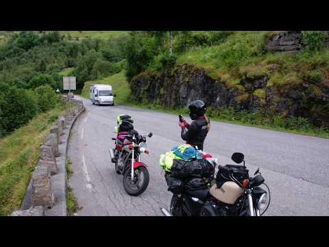 Motorcycle travel in Norway Part 3