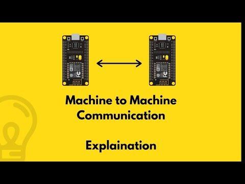 Machine To Machine Communication Explaination (Hindi)