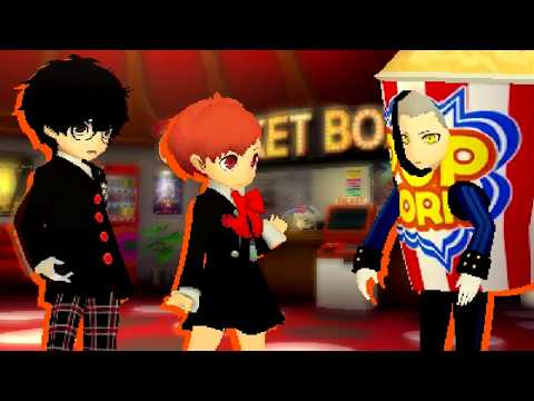 Persona Q2 New Cinema Labyrinth Ticket #17 A Bond Beyond Worlds