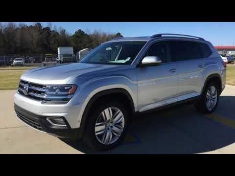 New 2019 Volkswagen Atlas Fayetteville NC Fort Bragg, NC #V16394