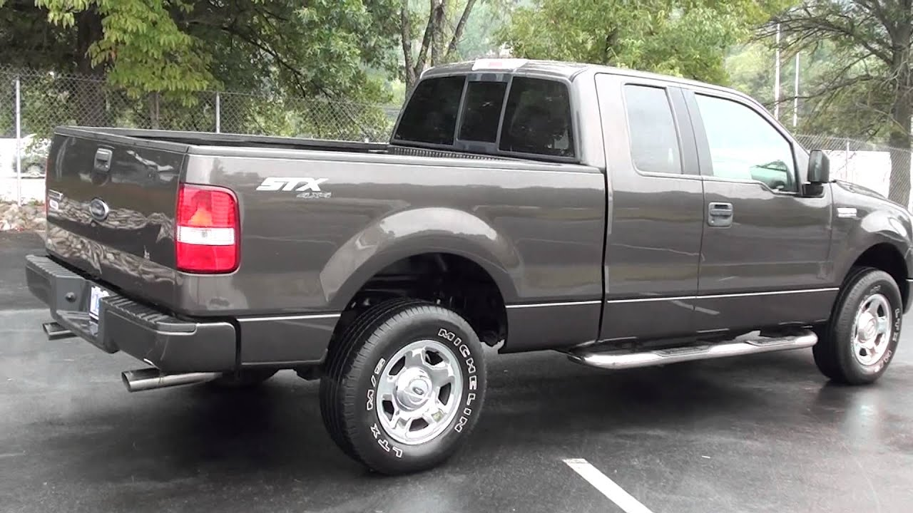 for sale 2005 ford f 150 stx 4x4 only 60k miles 1. Black Bedroom Furniture Sets. Home Design Ideas