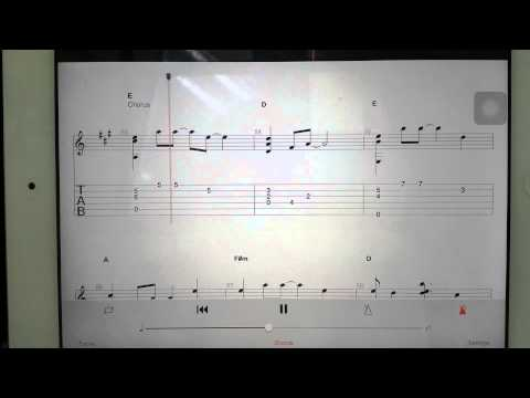 Guitar Tabs - You'll Be In My Heart