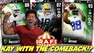 KAY WITH THE COMEBACK GENES! MADDEN 17 DRAFT CHAMPIONS