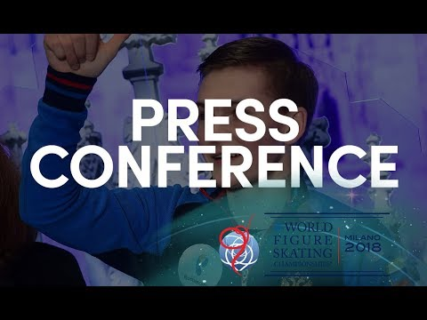 Men Short Program Press Conference - Milano 2018