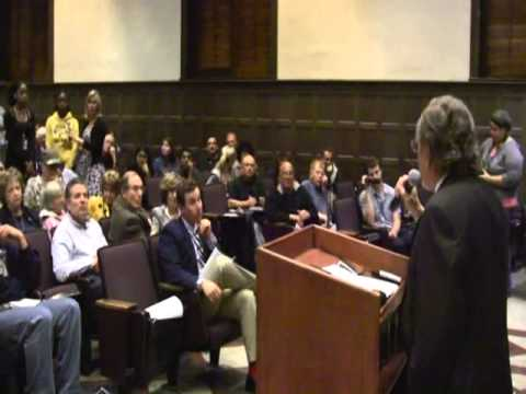 Leftist students Q&A to David Horowitz at UCLA evidence society