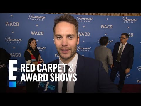 Taylor Kitsch Misses Rocking a Mullet for David Koresh Role | E! Live from the Red Carpet