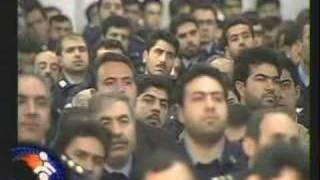 Iranian Air Force Officers Visit Ayatollah Khamenei