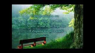 Elena Gheorghe o simpla melodie LYRICS