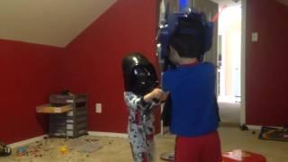 Darth Vader vs. Optimus Prime