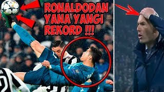 Роналду футбол тарихида булмаган рекордни кайд этди, Барса - Рома ва Ливерпуль - Ман Сити хакида !