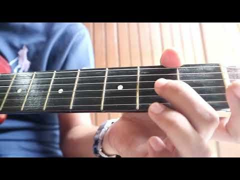 Belajar Petikan Melodi Gitar Kal Ho Na Ho #tutorial