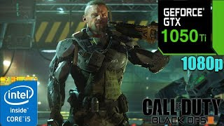 Call of Duty Black Ops 3 : GTX 1050 Ti | Multiplayer | Custom Settings | 1080p