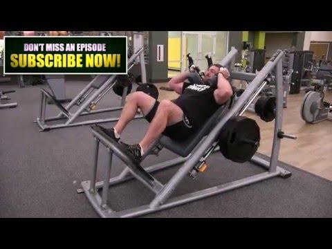 Hack Squats [Best Machine For Building Bigger Quads]