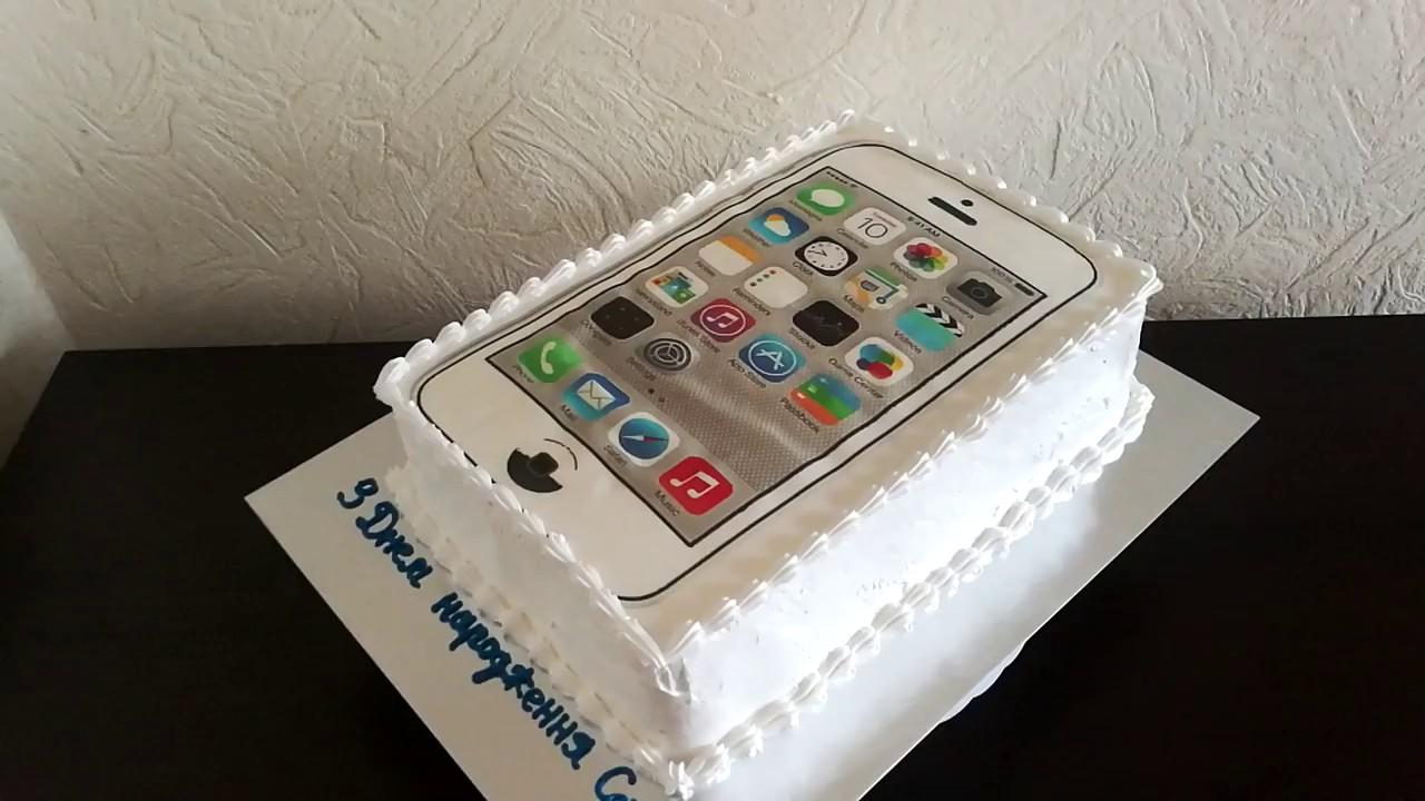 фото торт телефон