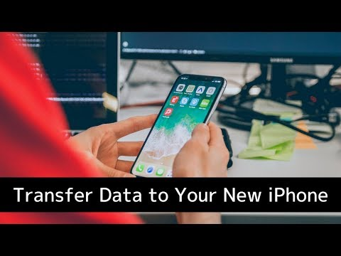 How to Transfer your Data to your new iPhone or iPad