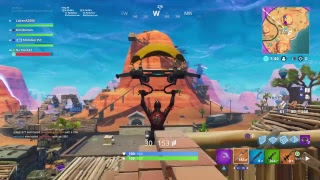 Getting the world record for longest Basketball shot in Fortnite