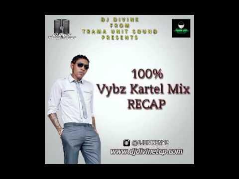 100% Vybz Kartel Mix - DJ Divine