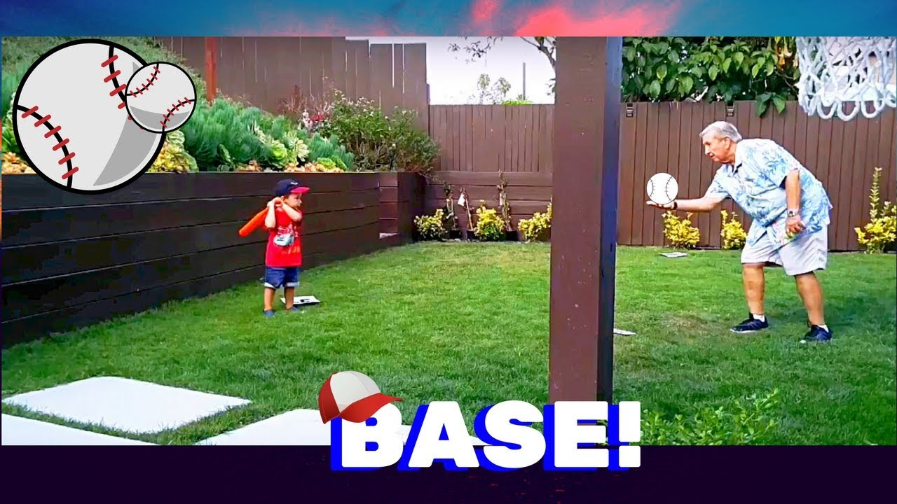 2 year old aiden playing baseball youtube
