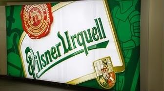 Highlights Der Historischen Brauerei Tour Bei Pilsner Urquell in Pilsen Tschechische Rep.
