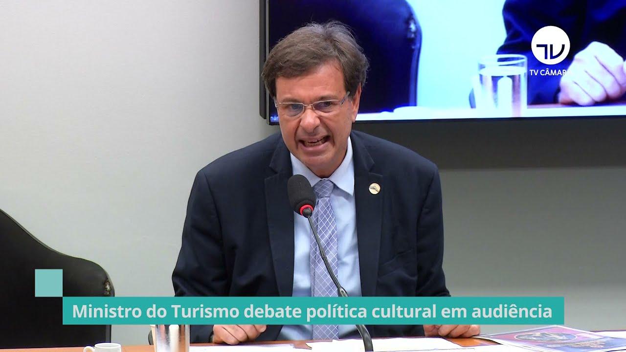 Ministro do Turismo quer mais rigor no uso dos recursos da Lei Rouanet
