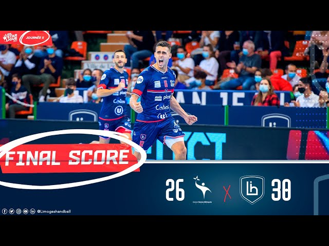 Lidl Starligue I J05 : Cesson - Limoges