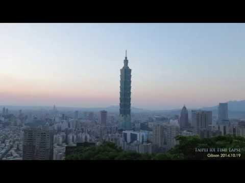 Taipei 101 Time Lapse 4k