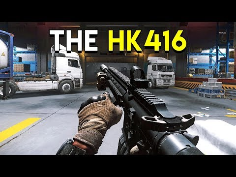 The HK416 -