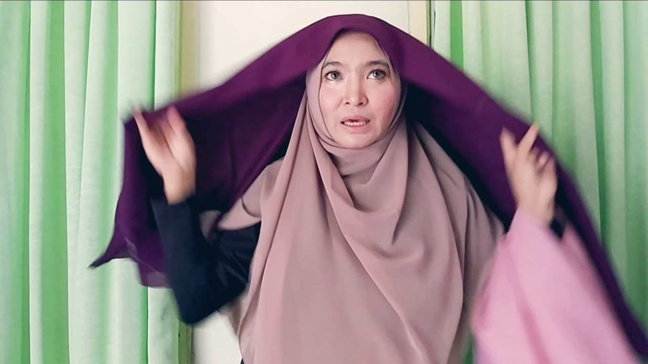 Hijab Bahan Voal Polos 15