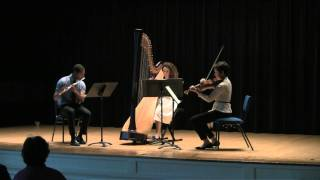Maria Rindenello-Parker - Sonatine en Trio for flute, viola, and harp - Maurice Ravel