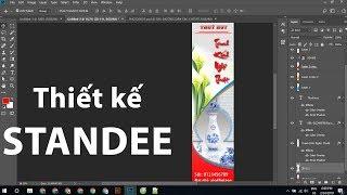 Hướng dẫn Thiết kế Standee bằng Photoshop cho người mới bắt đầu | Tự Học Đồ Hoạ