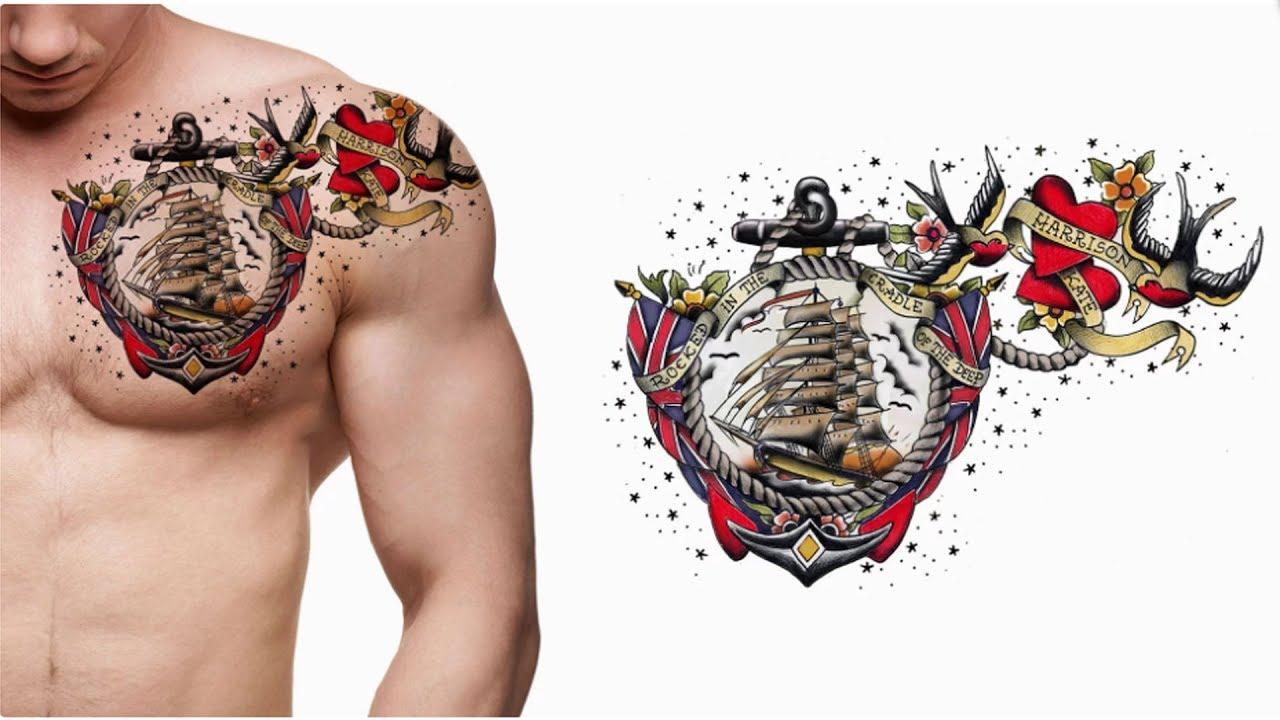 Columbus Custom Tattoo Designs: Top Modèles De Tatouages Les Plus Cool Pour Les Hommes