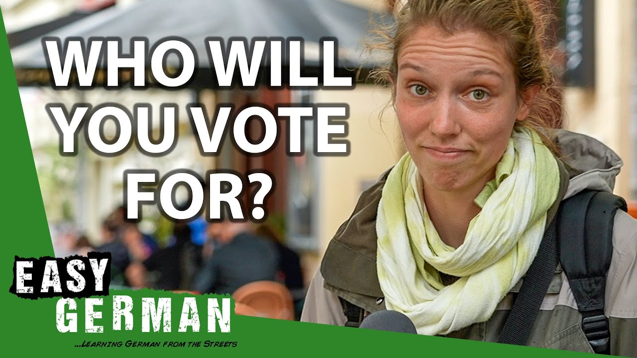 Who Will You Vote For?   Easy German 417
